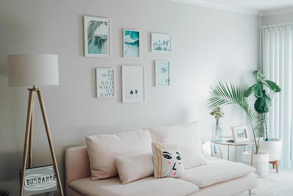 Living room gallery wall inspiration